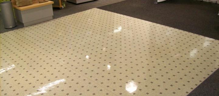 Čištění a voskování podlah Hlinsko